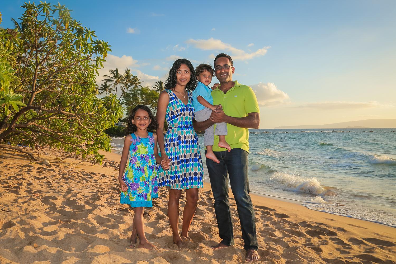 Family portraits Maui