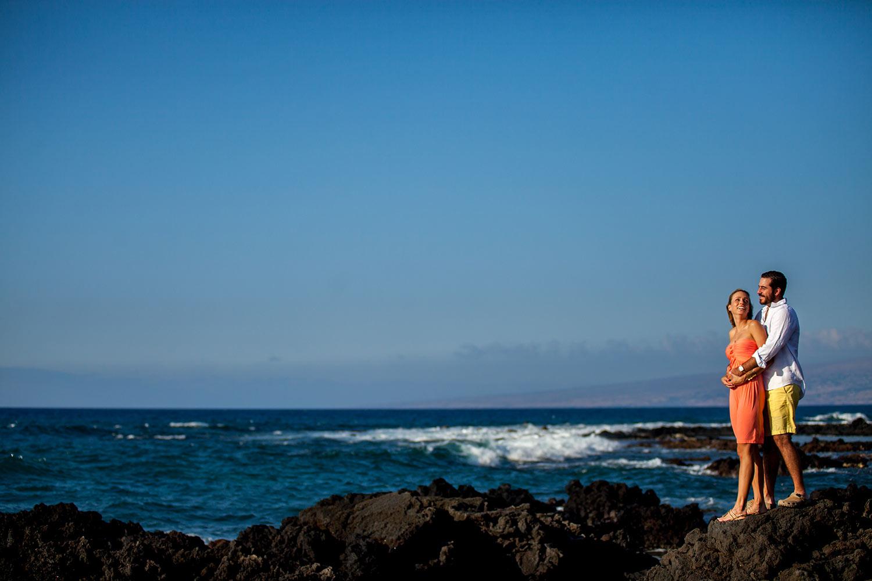 Engagement photography Big Island, Hawaii
