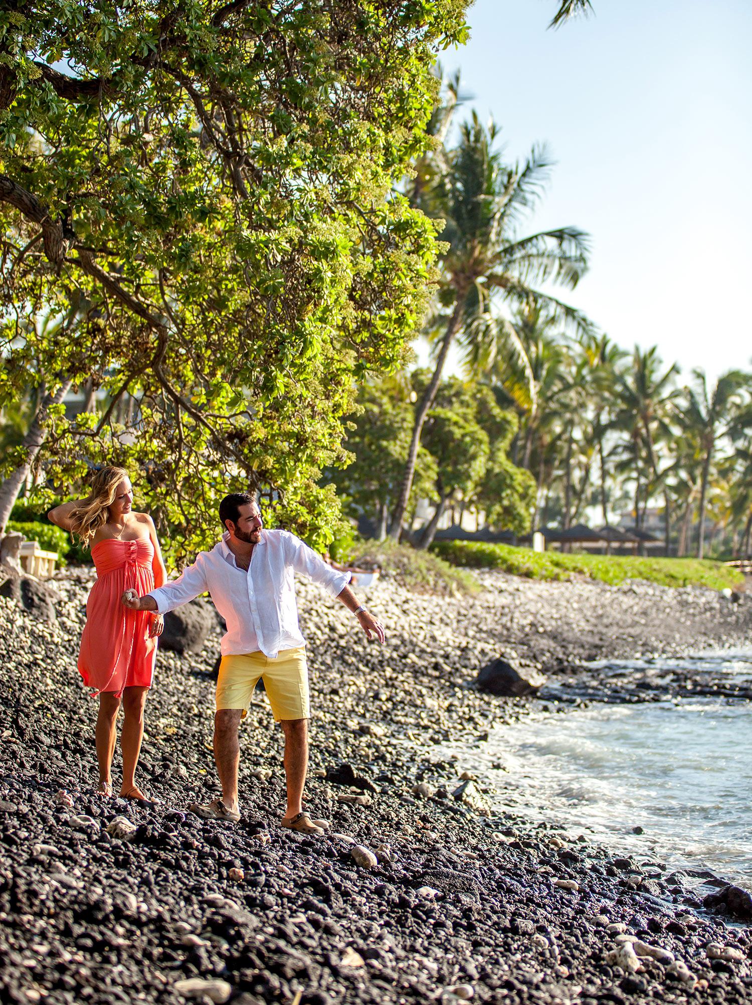 couple photography Big Island