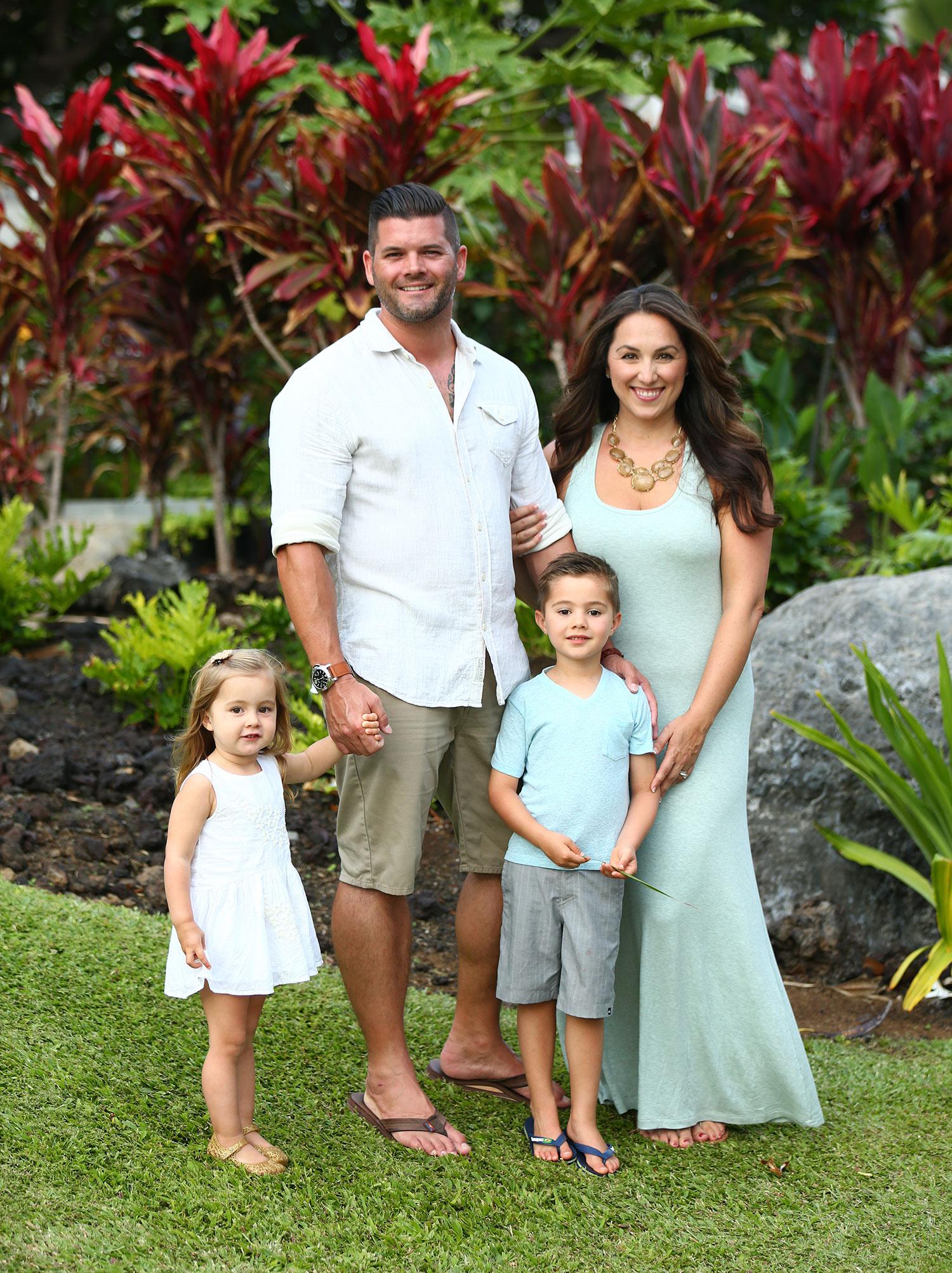 Family portraits Waimea, Hawaii
