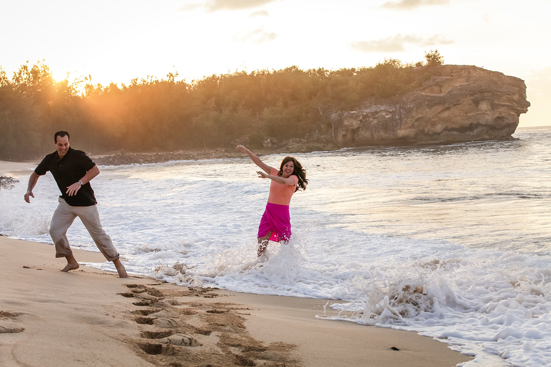 Couple photography Kaloa, Hawaii