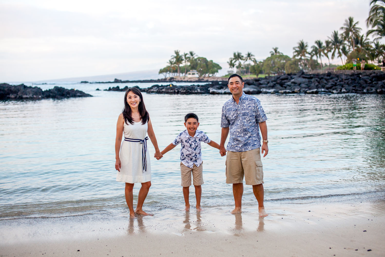 Family photo session Hawaii