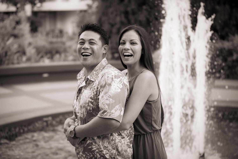 Fun couple photography Kauai