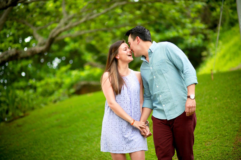 Candid couple photography Maui