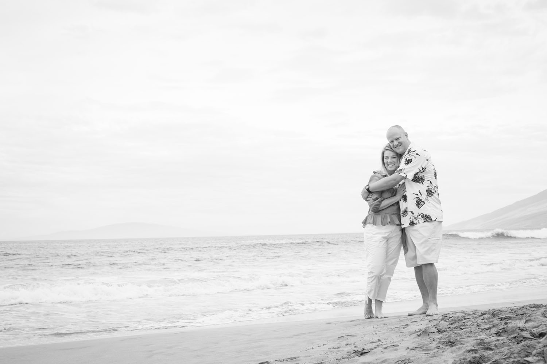 Couple vacation photography Maui