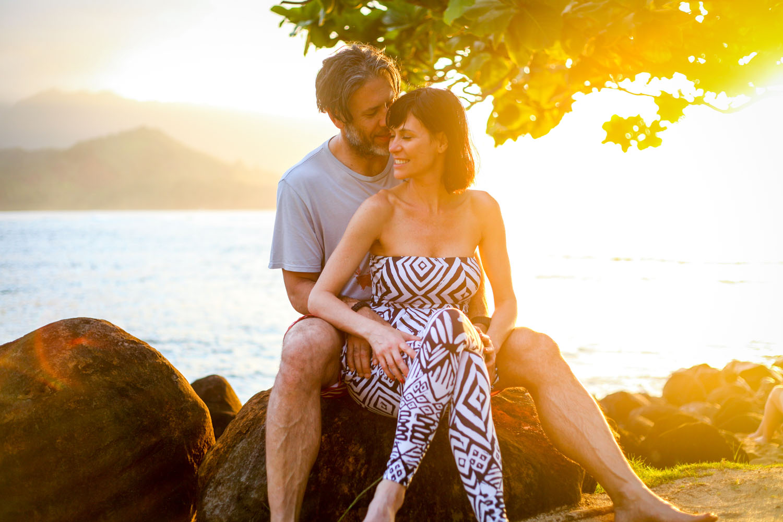 sunset photo shoot Maui