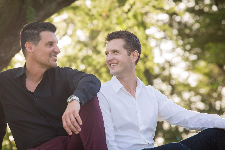 Gay couple photography Maui