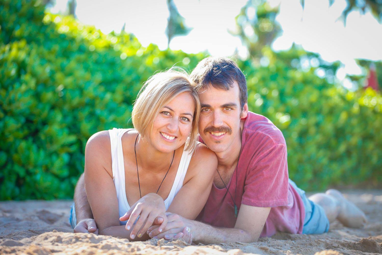 Couple portraits Honolulu