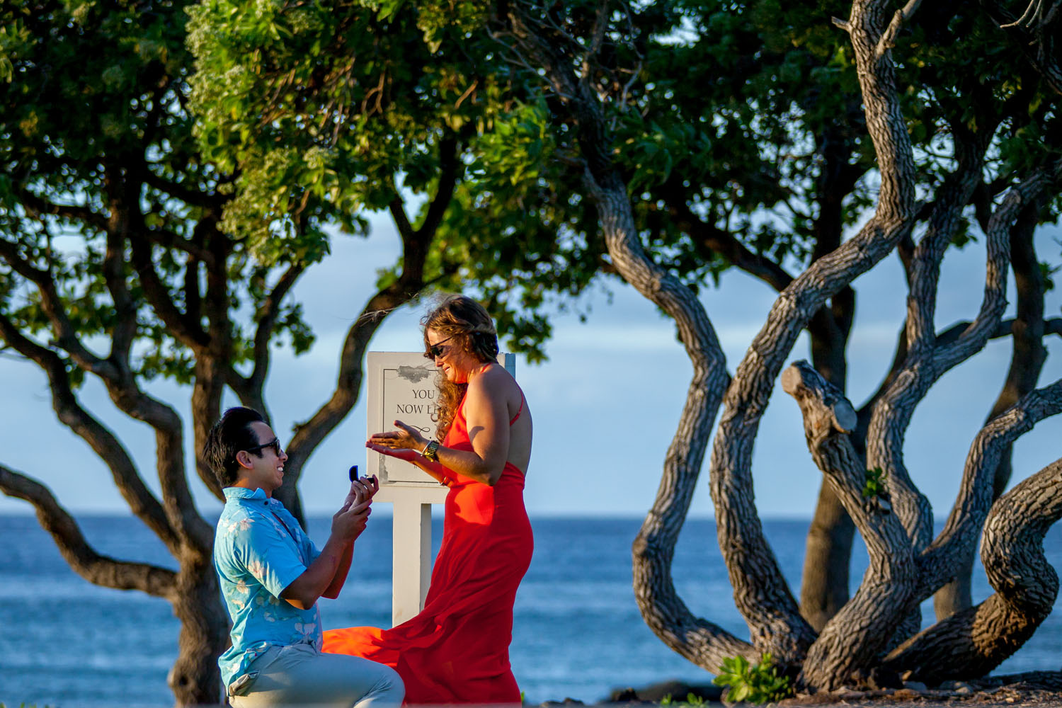 Engagement photography Big Island