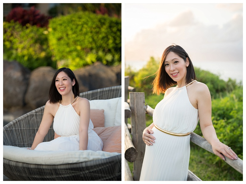 Pacific Dream Photography - Maternity Session in Hawaii, Babymoon