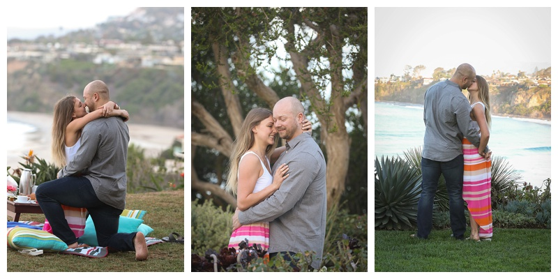 Nicholas and Allegra- just seconds after he popped the question. (Laguna Beach)