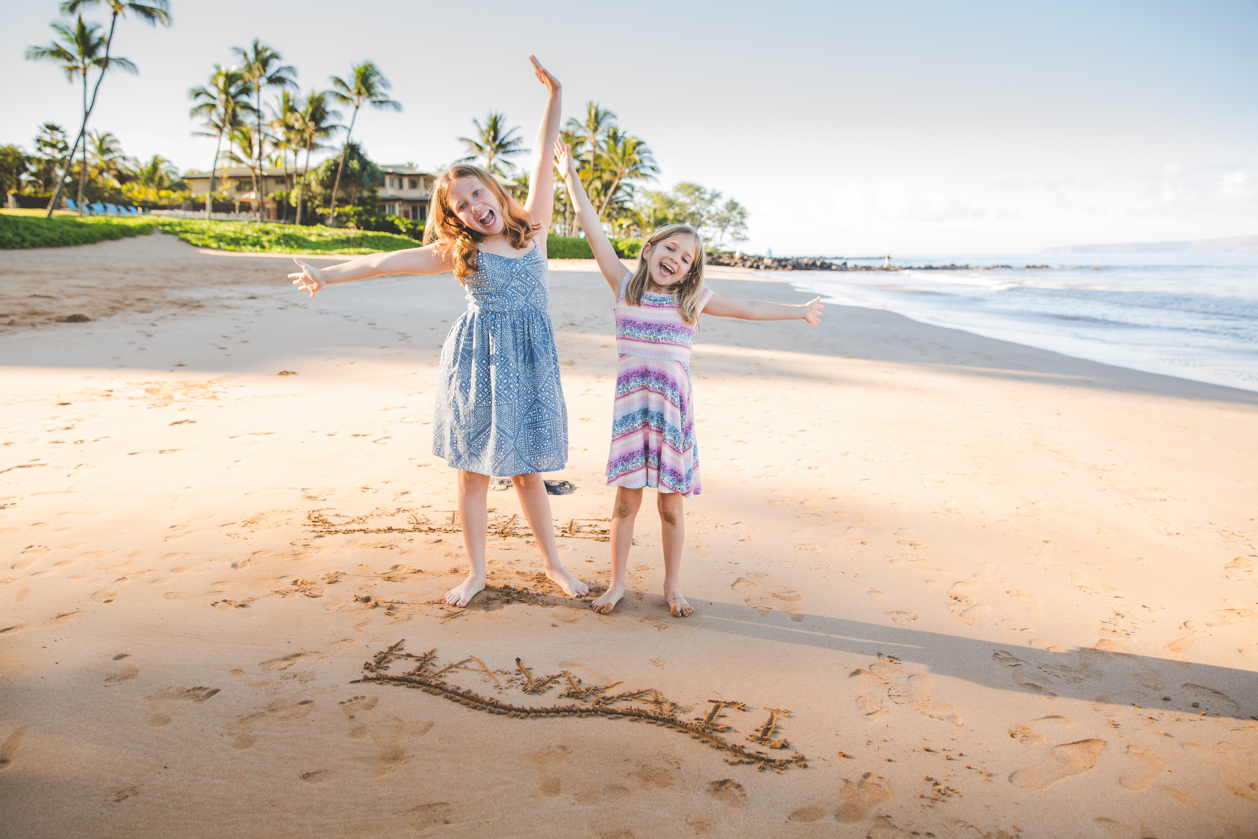 Kids Beach Photography in Hawaii, Pacific Dream Photography