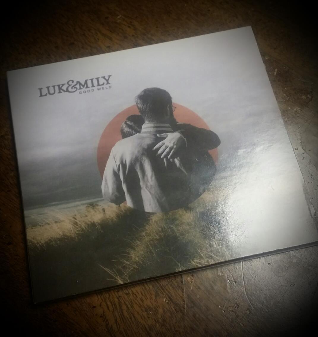 Album Cover photo for Luke & Emily Ash. Design by   Studio Gray  .