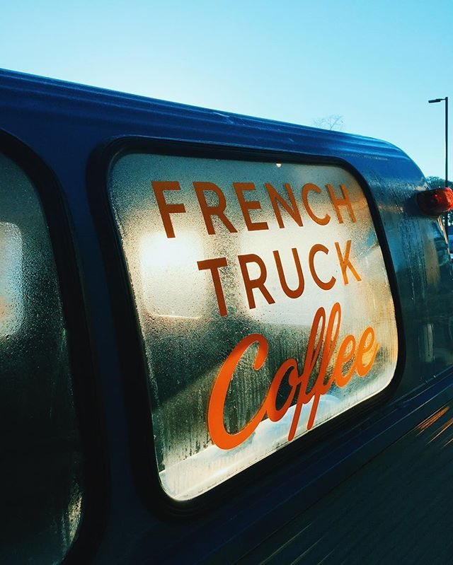 I can see the Futura // #frenchtruckcoffee #thatlacommunity #wesanderson #futura