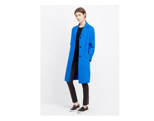 Vince classic wool coat