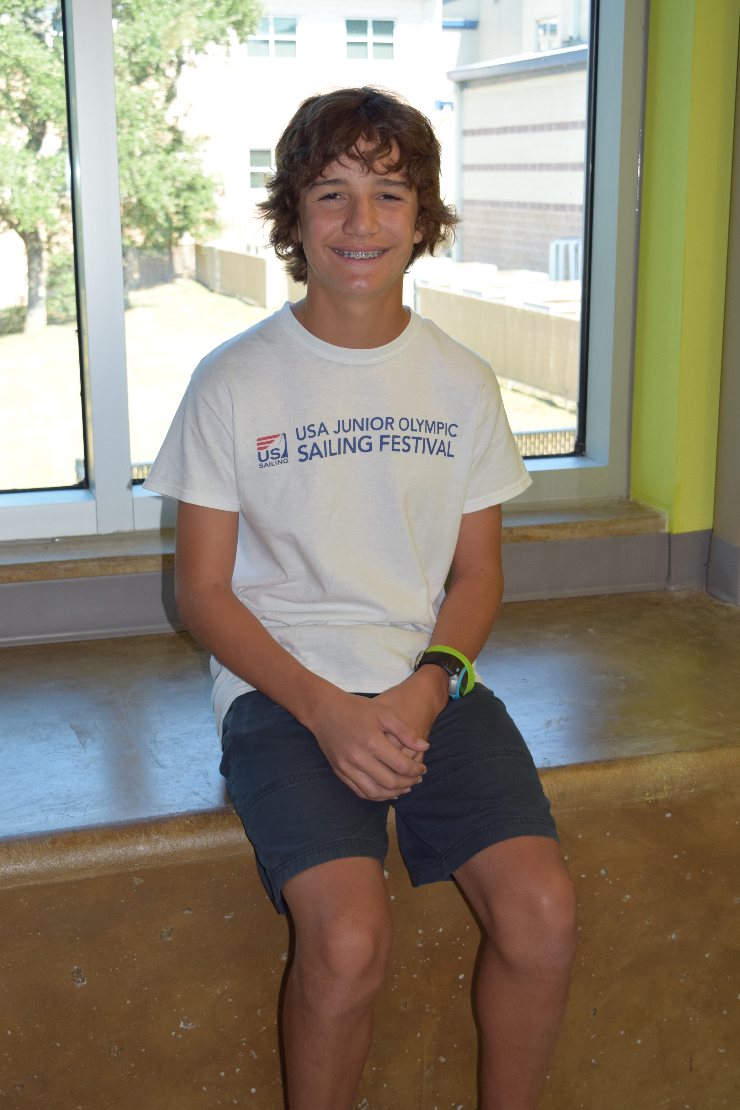HBMS 7th grader Julius Heitkoetter