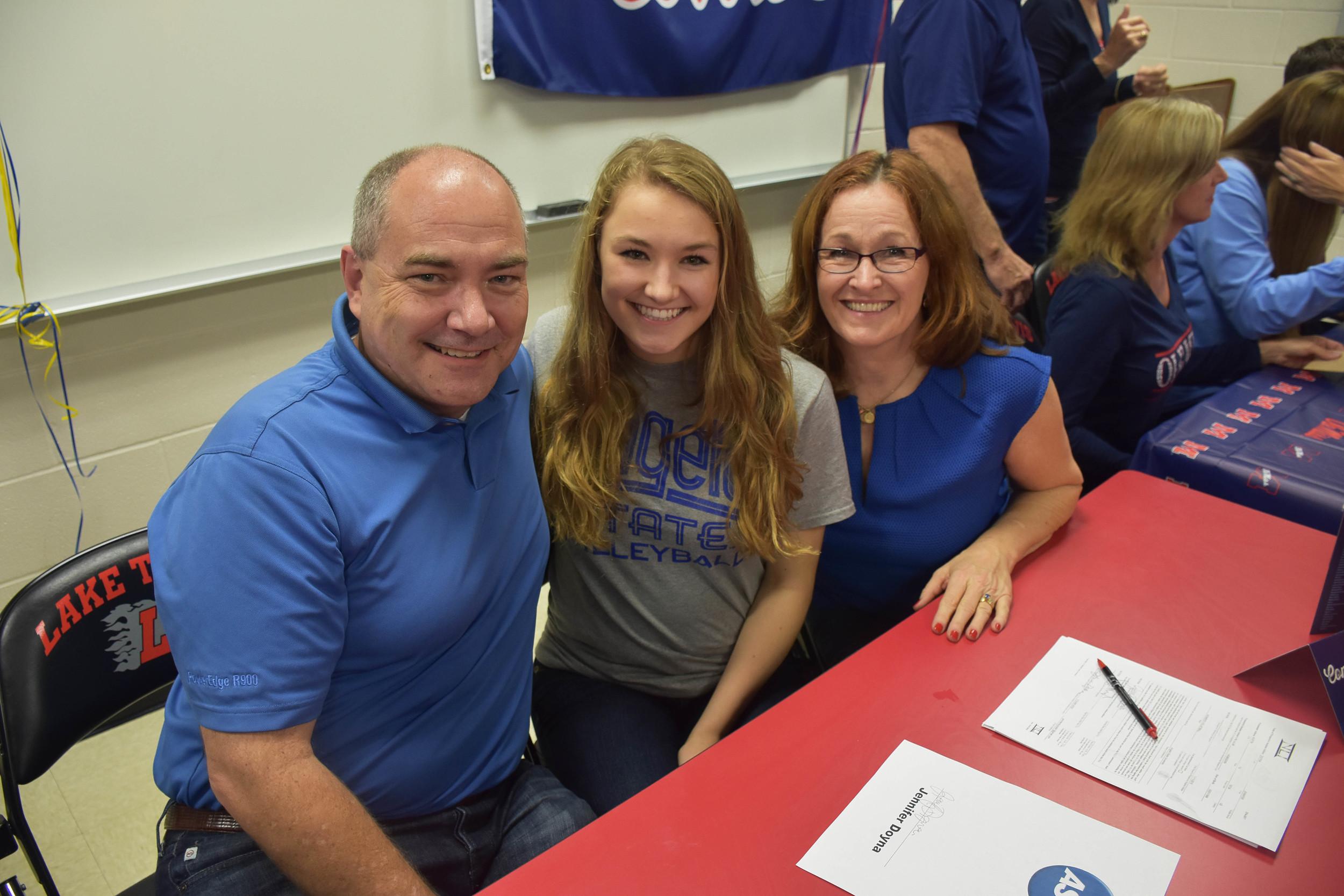 Jennifer Doyna - Volleyball -  Angelo State University