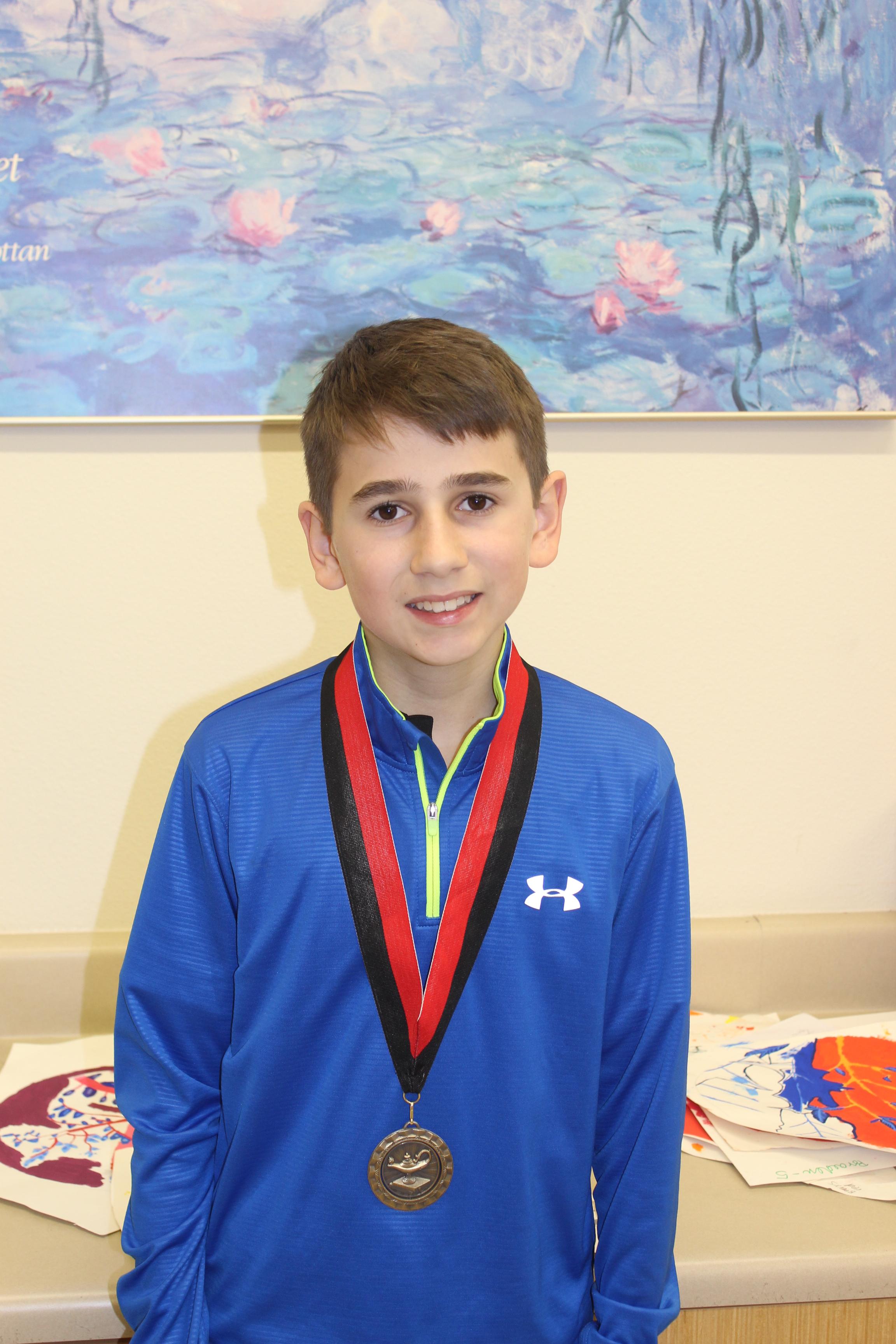 LTMS 6th grader Colin Miller
