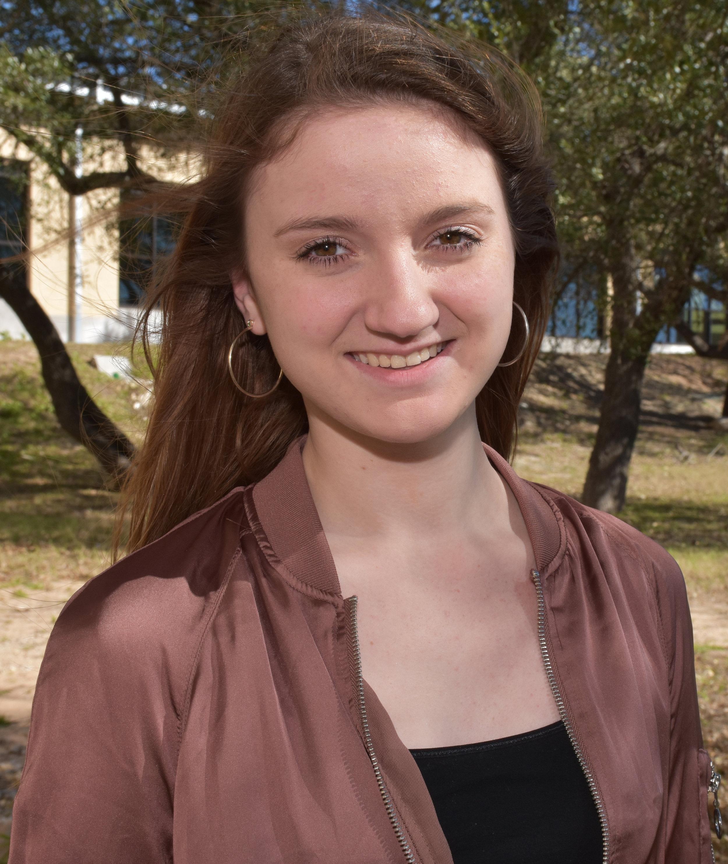 Jade Milam: 7th Chair Alto 1, TMEA All-State Women's Choir
