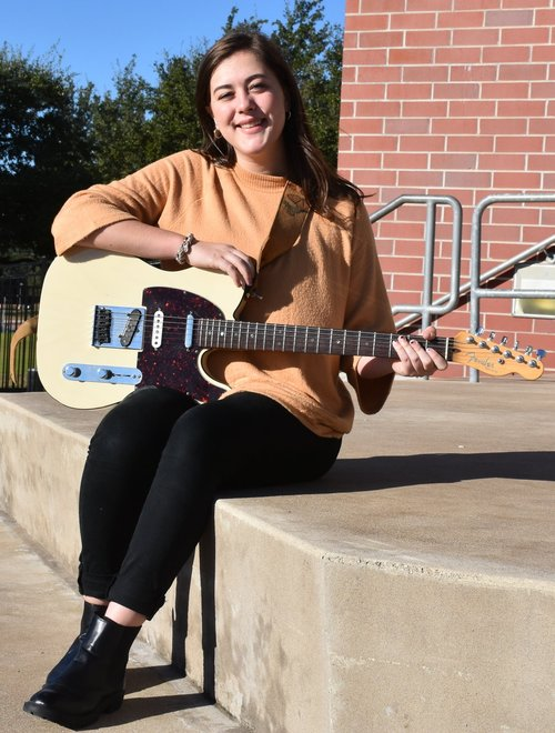 Grace Ward:  1st Chair Jazz Guitar, TMEA   All-State Jazz Ensemble 1