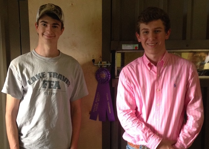 Bryson Rother and Garret Jeter