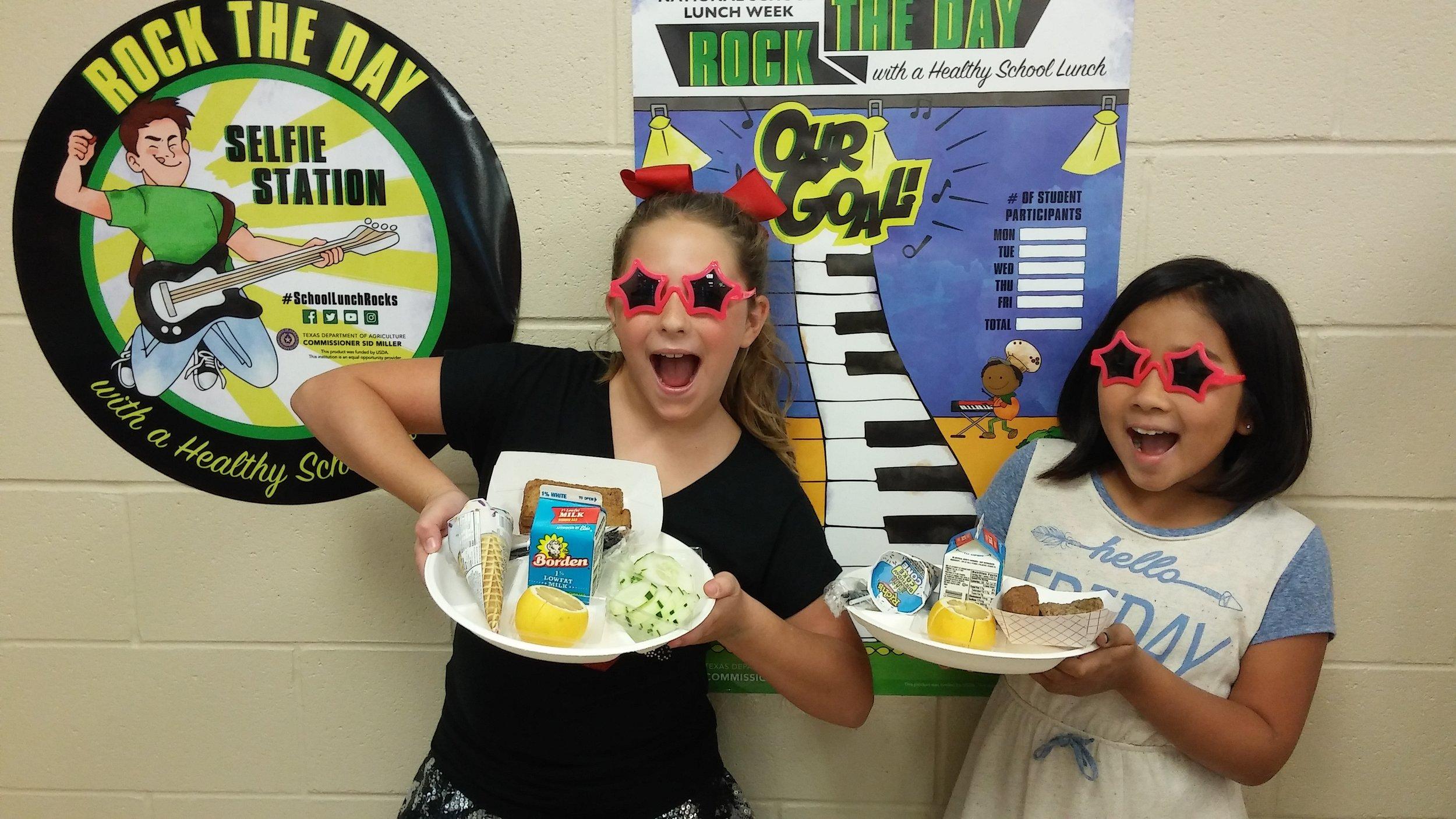 LTISD SCHOOLS ROCK NATIONAL SCHOOL LUNCH WEEK — School Matters