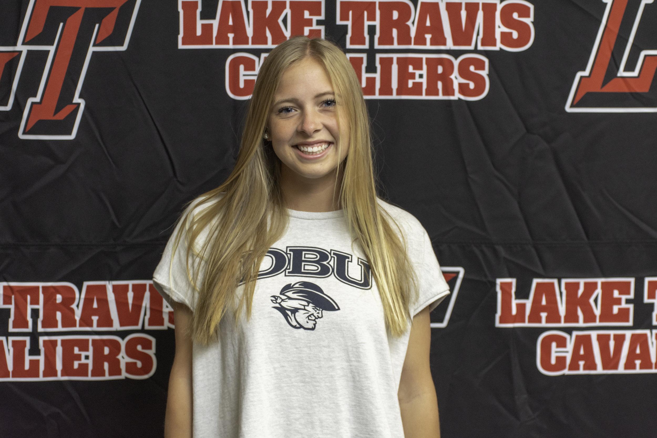 LTHS tennis student-athlete:  Karin Comegys  - Dallas Baptist University