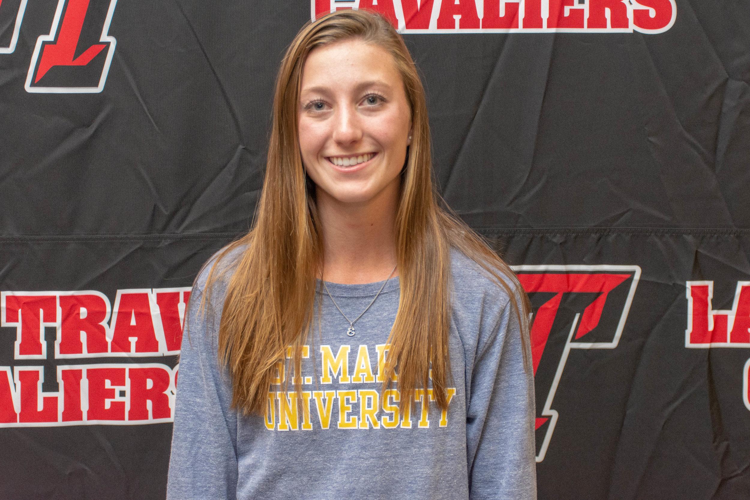 LTHS golf student-athlete:  Estelle Beck  - St. Mary's University
