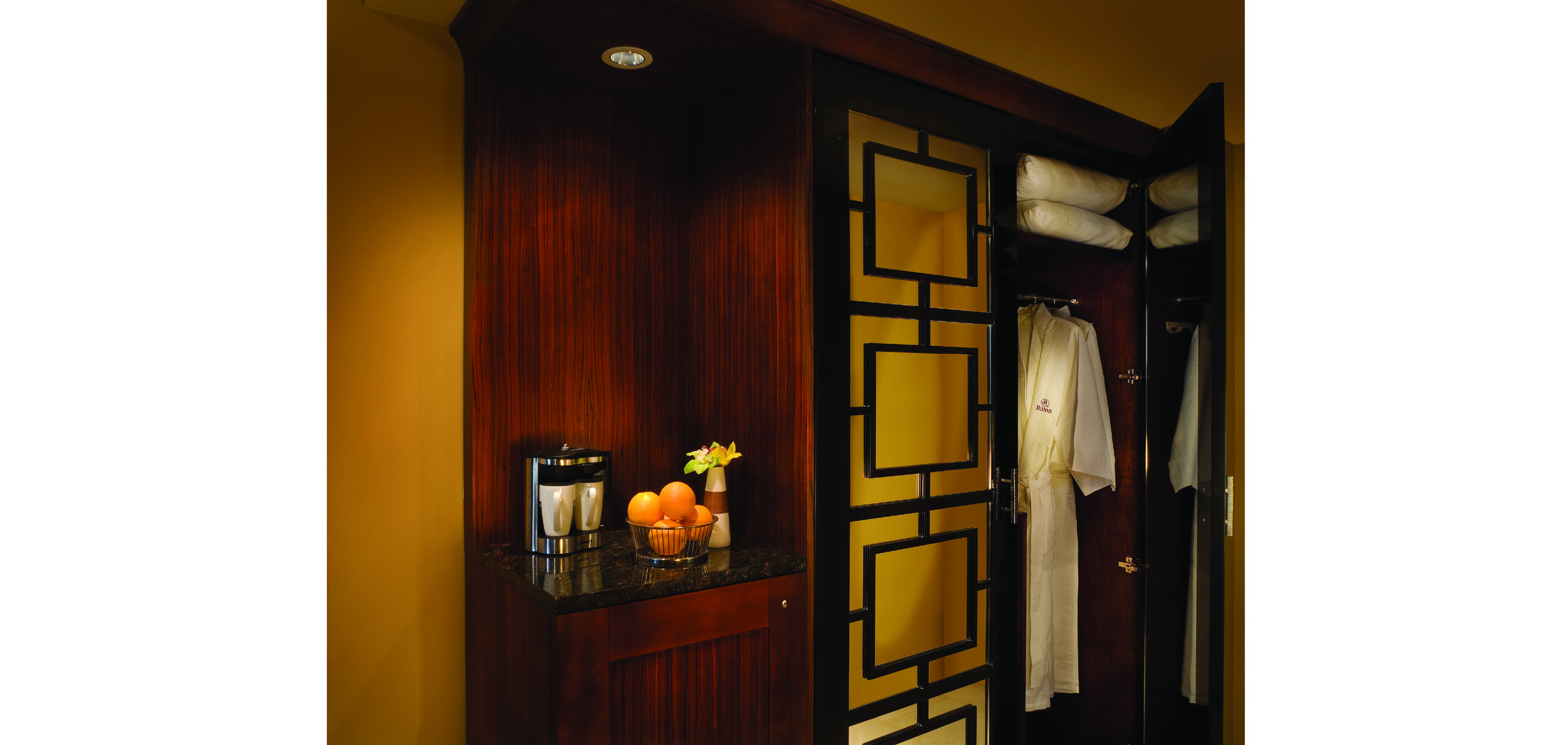 Guestroom Hospitality and Wardrobe