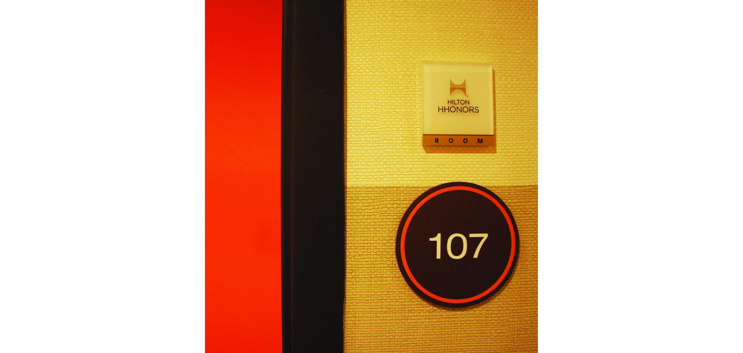 Guestroom Signage