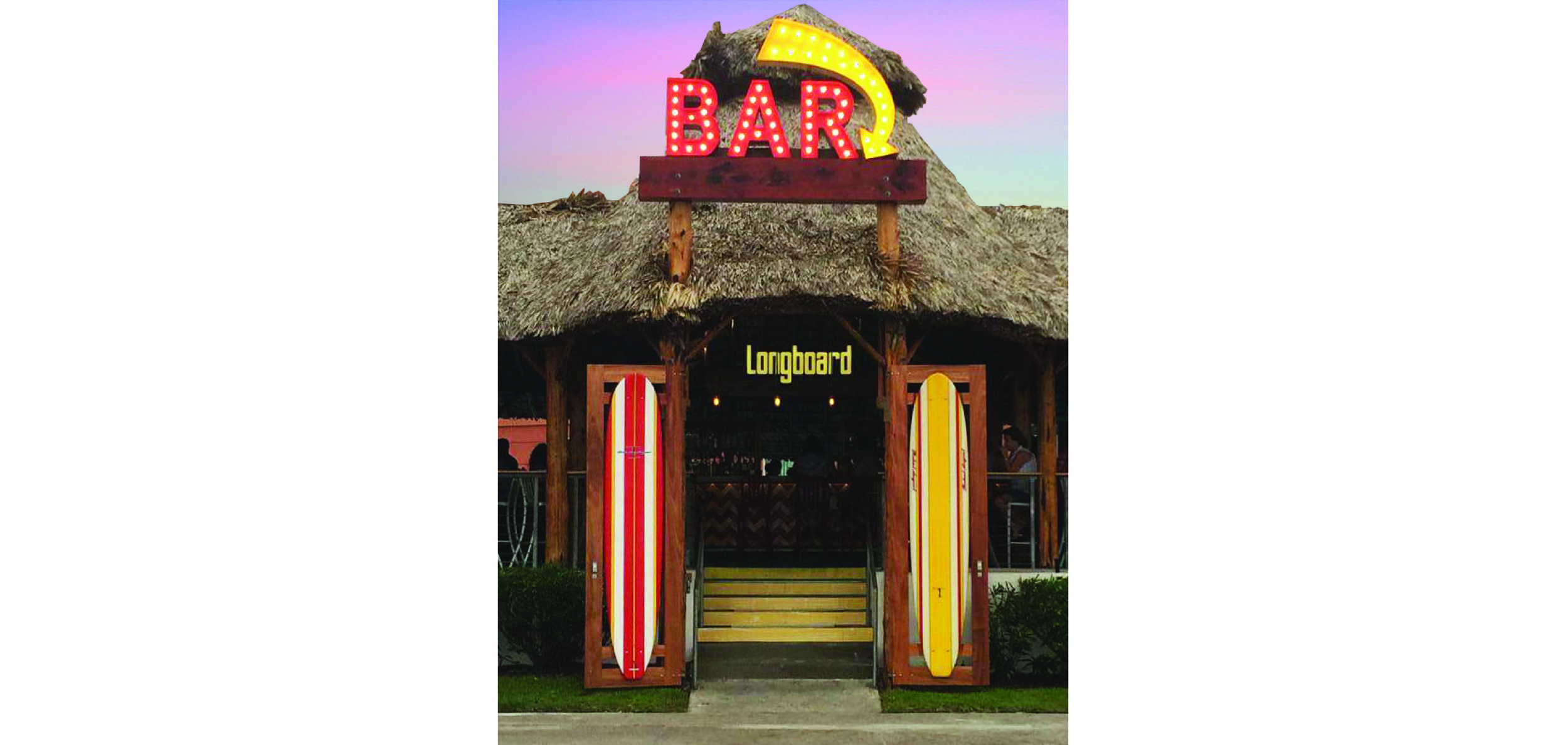 Longboard Beach Entry