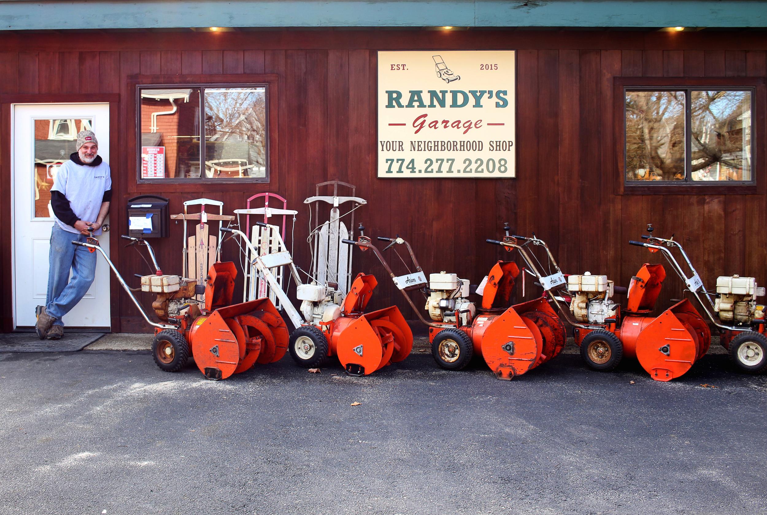 Randy Disinger of Randy's Garage