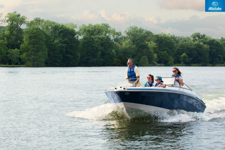 Boat insurance.
