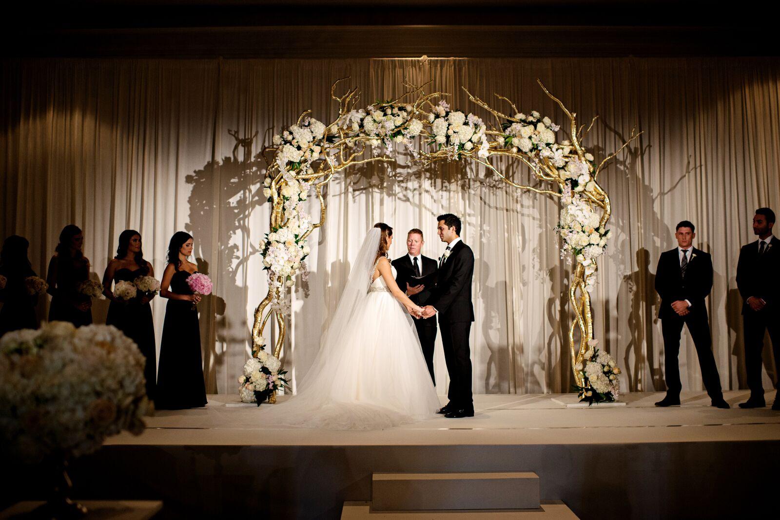 Wedding Photographer: Kristen Weaver Photography | Wedding Ceremony: The Ritz-Carlton Orlando | Wedding Planner: Weddings Unique