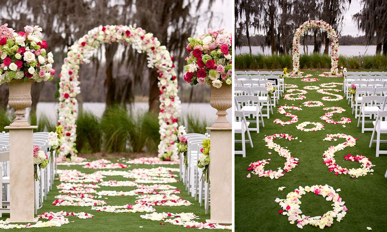 Wedding Photographer: www.jensenlarson.com | Wedding Ceremony: Isleworth | Wedding Planner: Weddings Unique