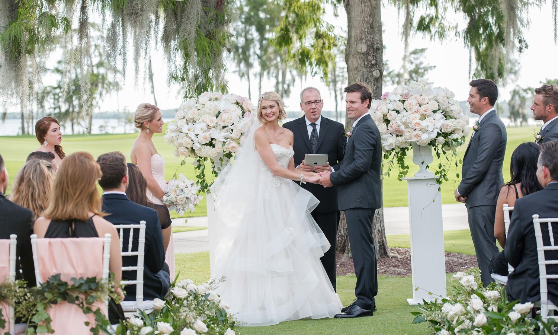 Wedding Photographer: Kathy Thomas Photography | Wedding Ceremony: Lake Nona | Wedding Planner: The Busy Bee