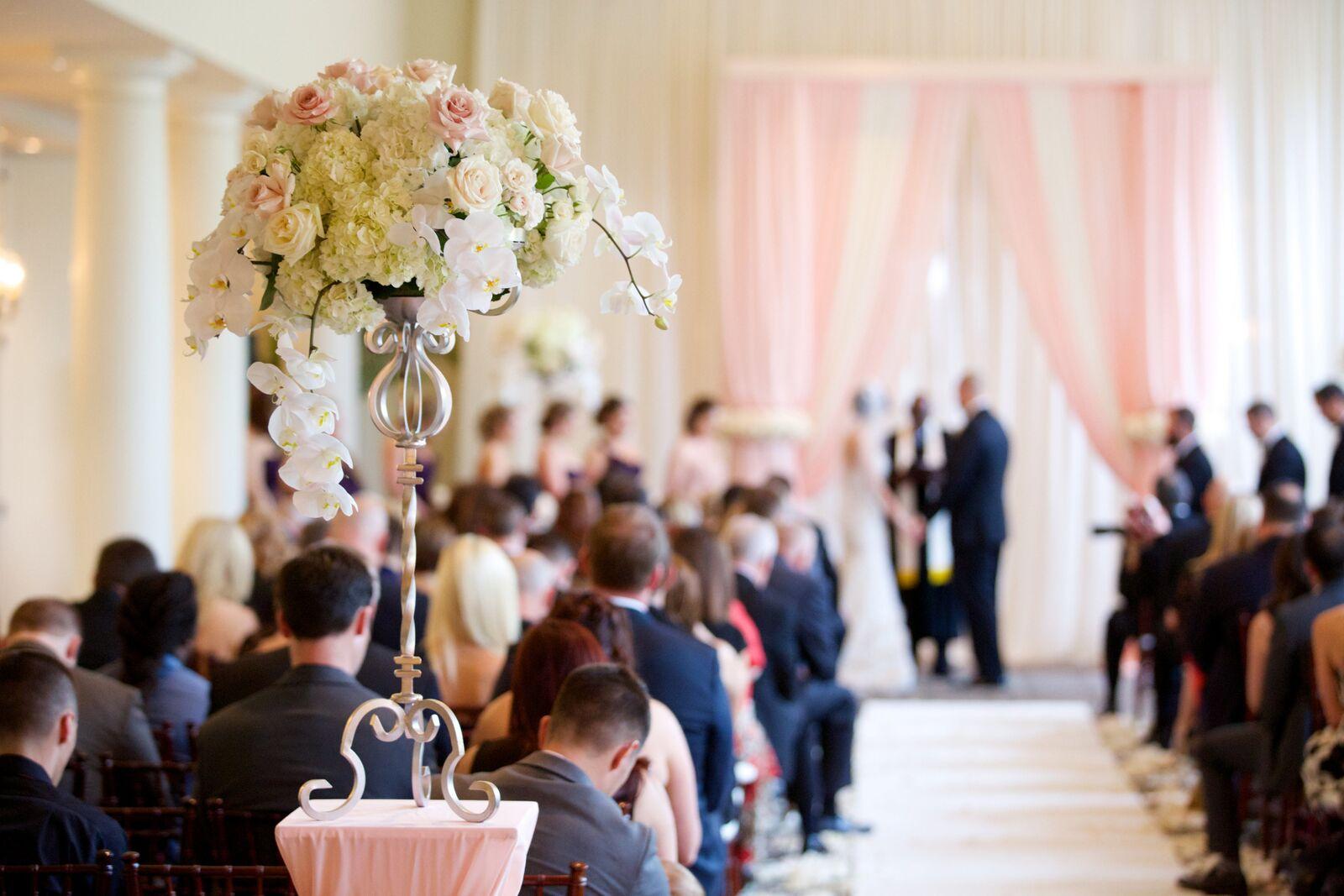 Wedding Photographer: www.jensenlarson.com | Wedding Ceremony: Portofino Bay Hotel | Wedding Planner: E-Events