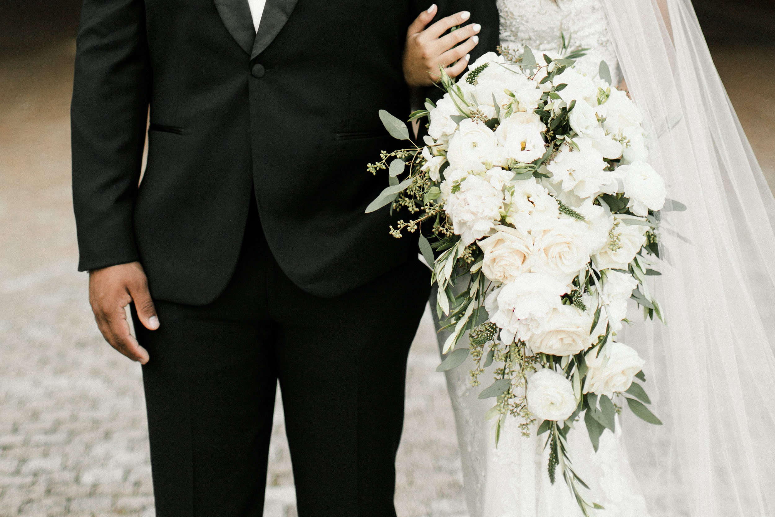 For the Love of Cascading Bouquets -