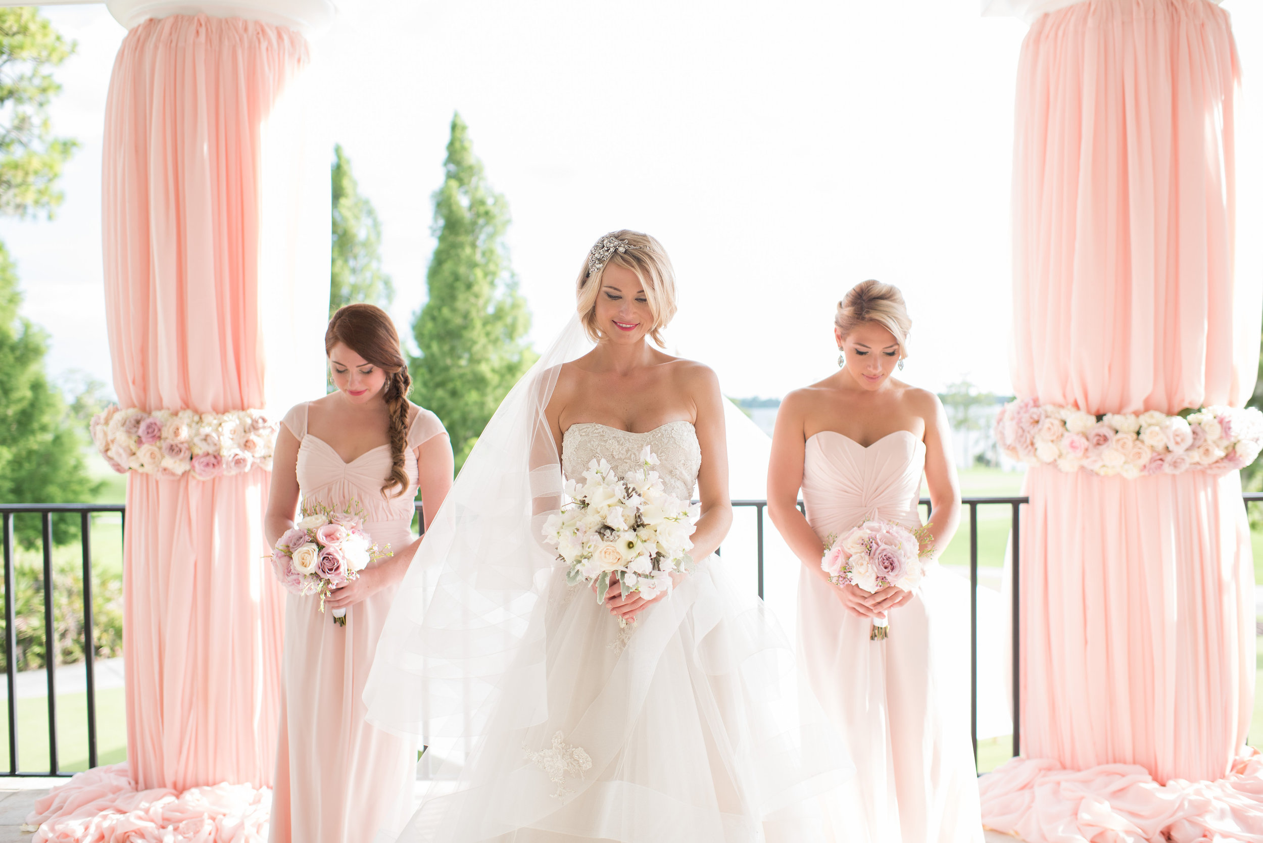 Wedding Photographer:  Kathy Thomas Photo |  Wedding Coordinator:  The Busy Bee Events and Design  | Wedding Location: Lake Nona Golf and Country Club