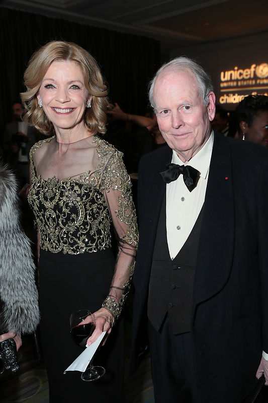 Guest   and Robert Day at the 2016 UNICEF Ball
