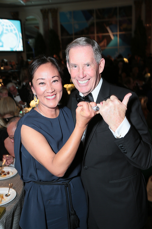 Leslie and William McMorrow     at the 2016 UNICEF Ball