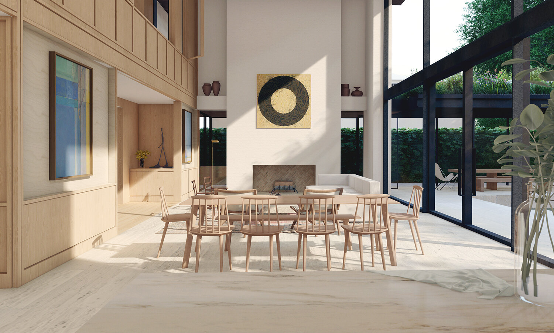 Windsor Residence, Living Room.