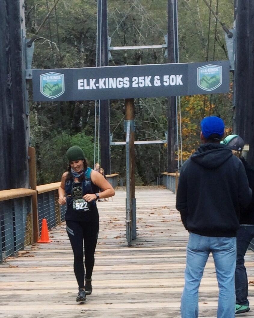 Elk-Kings 50k 2016 finish. - Photo capture: Linda Hall