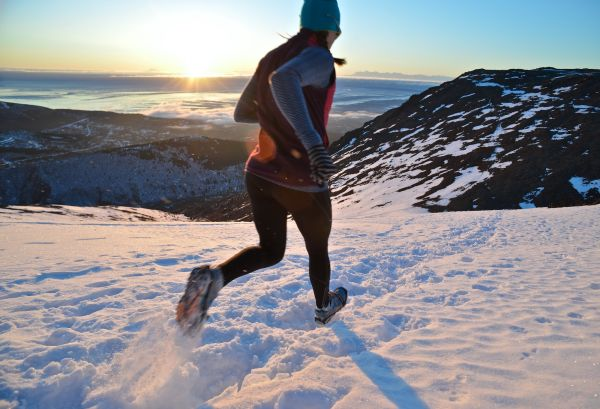 In The Snow - The snow can be the most magnificent medium to run through. Here's how!