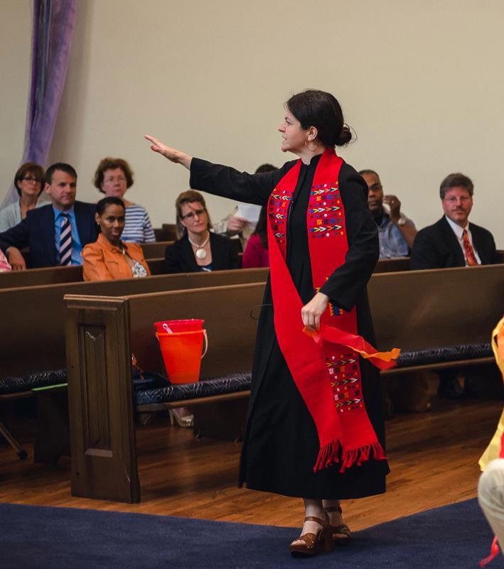 Reverend Rebecca Anderson