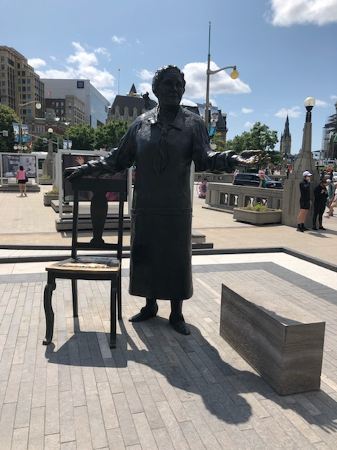 Emily Murphy - Famous Five monument in Ottawa, ON.