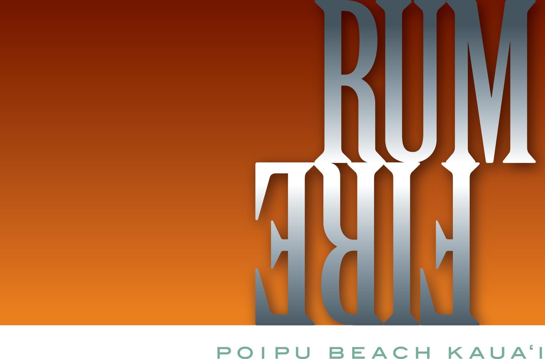 RumFire Poipu Beach