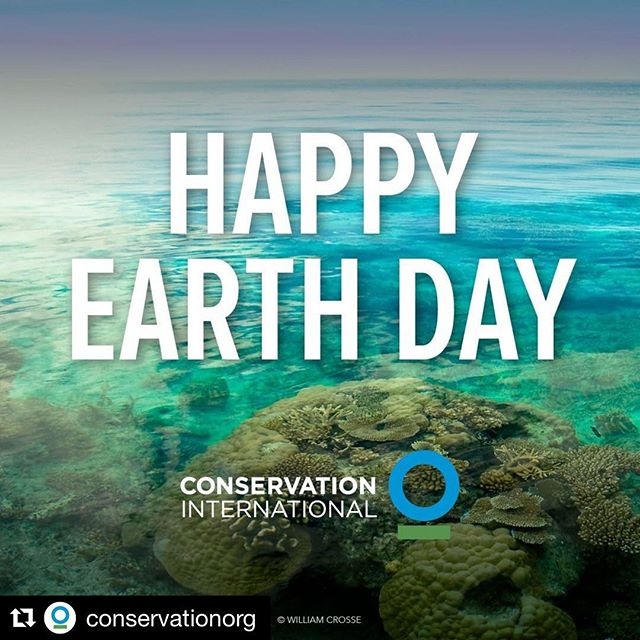 #Repost @conservationorg with @get_repost ・・・ Happy #EarthDay from everyone at @ConservationOrg. Today we celebrate nature, our planet, its species, and building a healthier and more productive future.