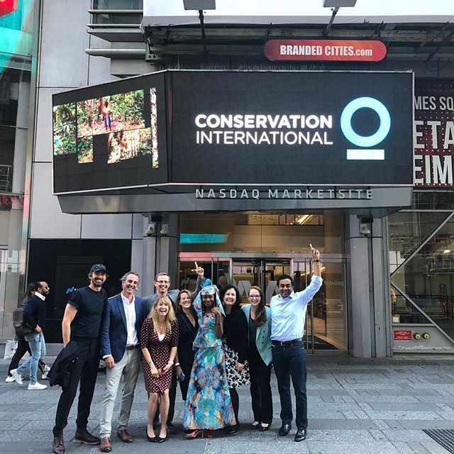 Conservation International rang today's Nasdaq closing bell as we continue to push for action at #climateweeknyc