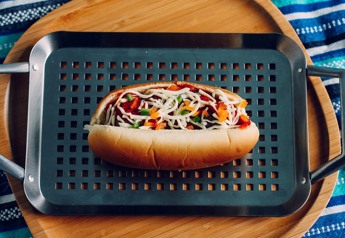 """2. Italian Brat - In Italy, """"calcio"""" means """"football,"""" but that really means soccer. Whether you're tailgating at an American football game or next to the soccer pitch, these international brats will definitely hit the spot."""
